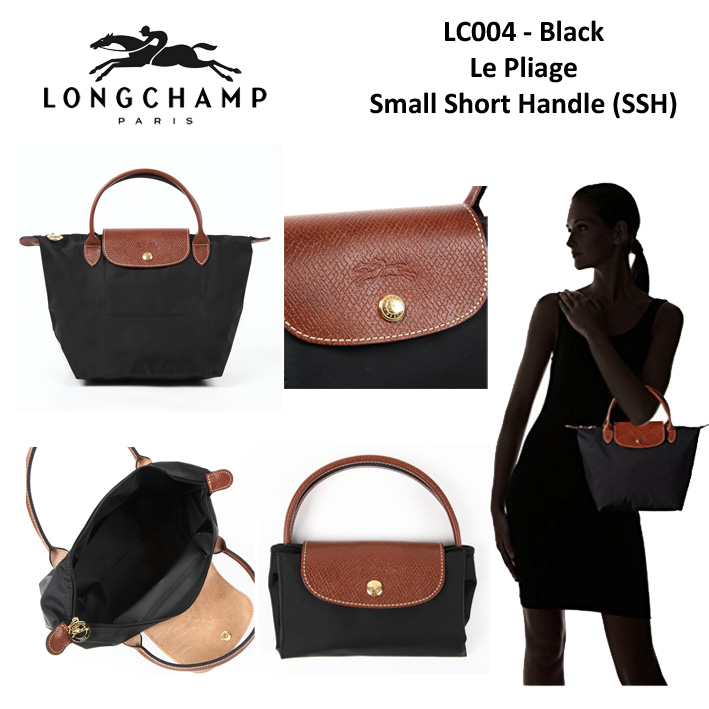 5cb11ebda267 LC004 Longchamp Le Pliage Small Short Handle Bag - SISBROW - Firsthand  Original Branded Bags with Lowest Price Ever!!